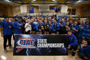 Lyman Memorial Volleyball Wins CIAC Class S Tournament